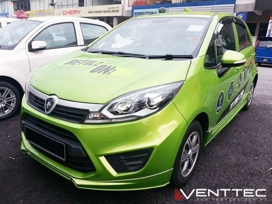 PROTON IRIZ (3�� = 75MM) venttec door visor