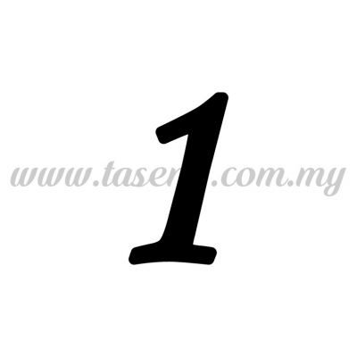 "Sticker Number ""1"" - Regular (SK-0NUM5-1)"