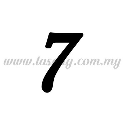 "Sticker Number ""7"" - Regular (SK-0NUM5-7)"