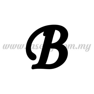 Sticker Alphabet B - Regular (SK-AALP5-B)