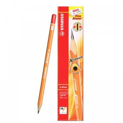 Stabilo 286 XShock 2B Pencil- 12 pcs of box