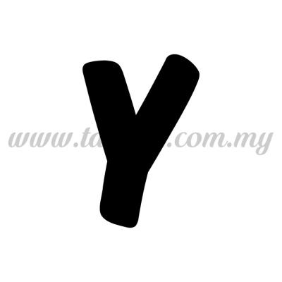 Sticker Alphabet Y - Bold (SK-AALP6-Y)