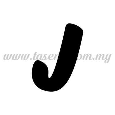 Sticker Alphabet J - Bold (SK-AALP6-J)
