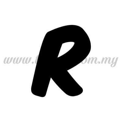 Sticker Alphabet R - Bold (SK-AALP6-R)