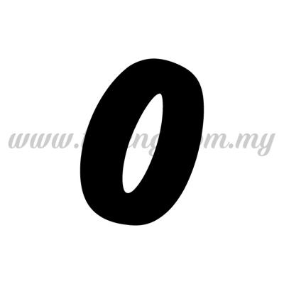 Sticker Alphabet O - Bold (SK-AALP6-O)