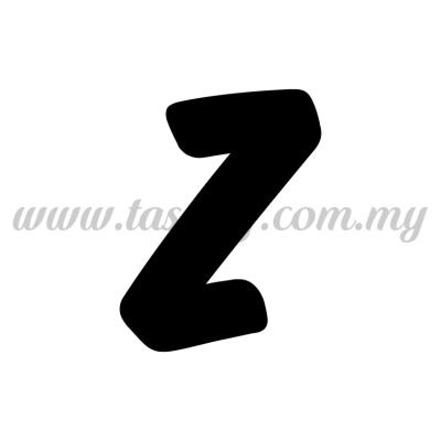Sticker Alphabet Z - Bold (SK-AALP6-Z)