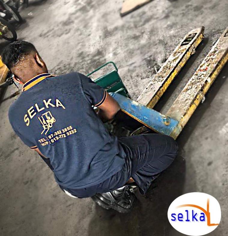 Hand Pallet Jack Repair Services Johor