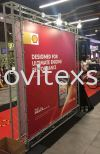 mobile exhibitions matel structure stand Exhibition