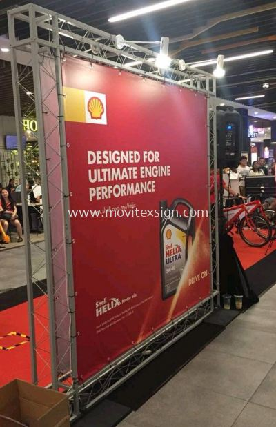 mobile exhibitions matel structure stand (click for more detail)
