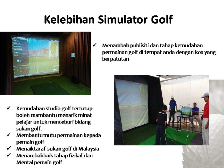 OptiShot Golf Simulator for your Needs Anytime Anywhere!
