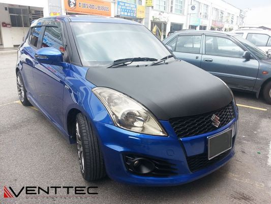 SUZUKI SWIFT (3�� = 75MM) venttec door visor