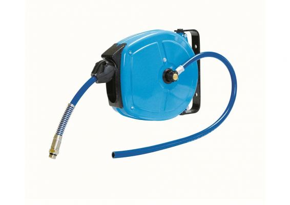FAICOM (ITALY) 8MM  ID X 5M RETRACTABLE AIR HOSE REEL, MP200805