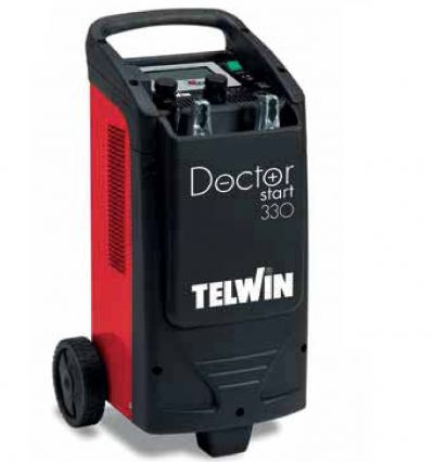 TELWIN 12-24V LCD DISPLAY AUTO BATTERY  CHARGER (45A/450AH) / J.STARTER(300A) / TESTER 230V 50/60H, DOCTOR START 330