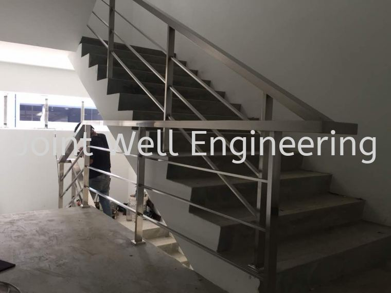 Factory Safety Handrailing Full Stainless Steel Stainless Steel Stair Hand Railing