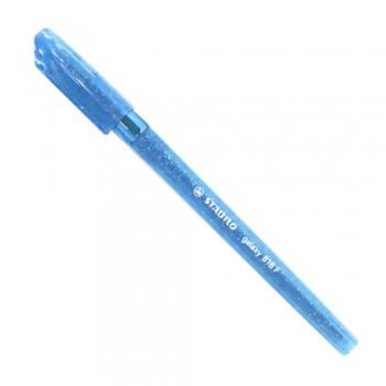 Stabilo 818F Fine Point Ball Pen - Blue