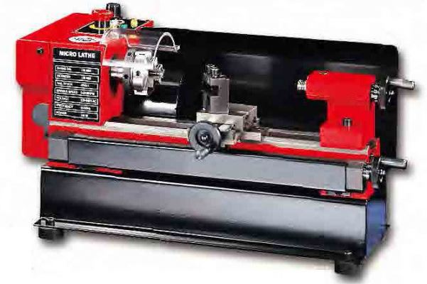 SIEG 125MM BABY LATHE MACHINE  150W 230V C/W STD ACCES (50MM 3 JAW CHUCK, OIL CAN & WRENCH SET), C0