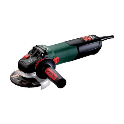 """METABO 5"""" 1550 WATT ANGLE GRINDER FOR STAINLESS STEEL PROCESSING, WEV 15-125 Quick Inox"""