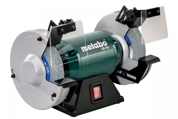"METABO 6"" 230V 1PH BENCH GRINDER 350 WATT, DS 150 (GERMANY)"