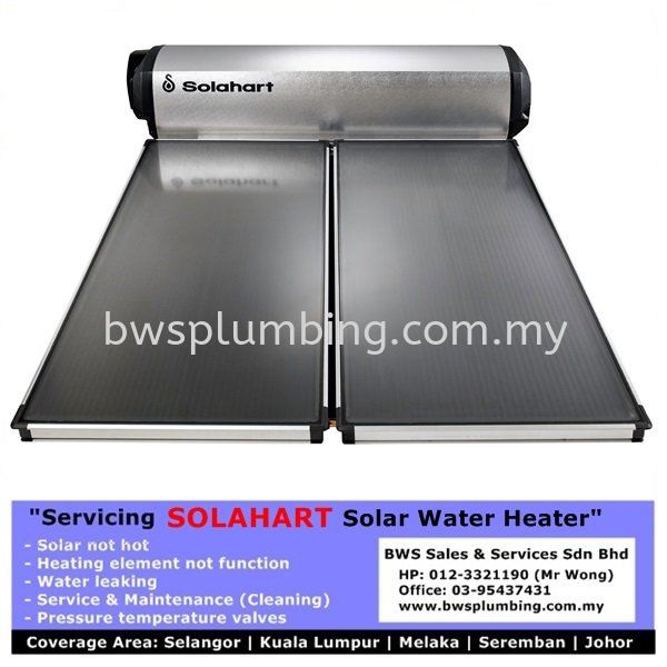 Repair Solahart Solar Water Heater Bangi- Service & Maintenance Supplier in Malaysia SolarHart Solahart Solar Water Heater Repair & Service BWS Customer Service Centre