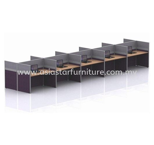 CLUSTER OF 10 OFFICE PARTITION WORKSTATION 1 - Partition Workstation Mutiara Damansara | Partition Workstation Bukit Jelutong | Partition Workstation Kota Damansara | Partition Workstation Dataran Prima
