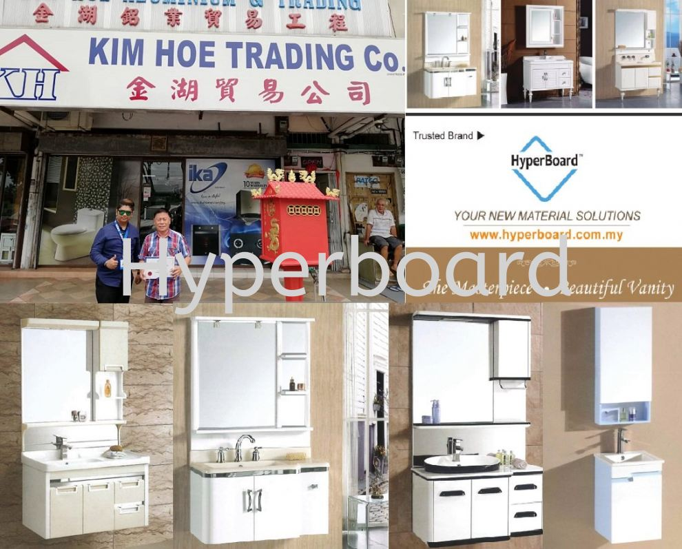 Congratulations! Hyperboard Bath Vanity are NOW Available in Port Dickson !