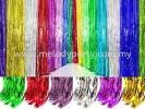 Foil Tassel Curtain Background decoration Party Decoration