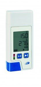 DOSTMANN LOG200 PDF- data logger with display for temperature, Order No. : 5005-0200