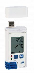 DOSTMANN LOG210 PDF- data logger with display for temperature and humidity, Order No. : 5005-0210