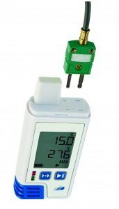 DOSTMANN LOG210 TC PDF- data logger with display for internal & external temperature and humidity