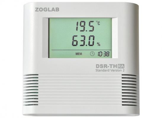 ZOGLAB DSR-TH, Data Logger for Temperature and Humidity