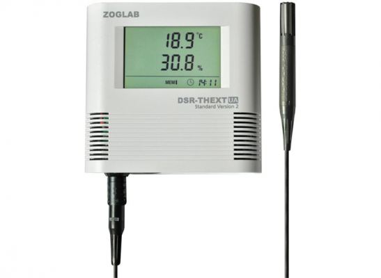 ZOGLAB DSR-THEXT, Data Logger for Temperature and Humidity