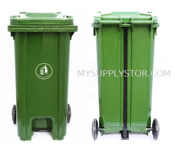 Waste Bin Wheel with Foot Pedal  120 / 240 Litre