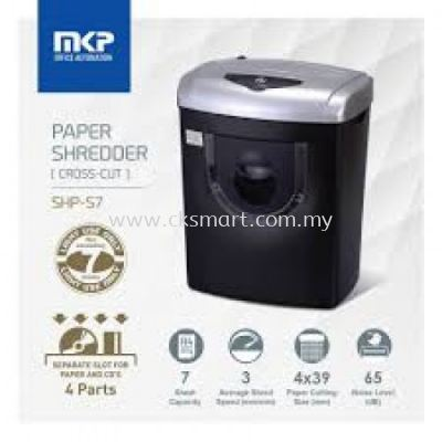 MKP SHP-S7 PAPER SHREDDER