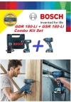 Bosch Combo GSR180-Li + GDR180-Li 18V Cordless Impact & Drill Driver  ID30549 Bosch Power Tools (Branded)