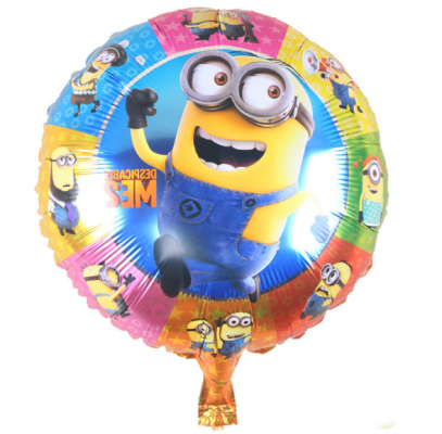 "Foil 18"" Minion Colorful"