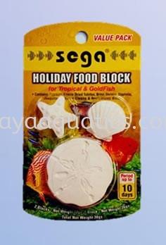 Holiday Food Block Sega Fish Food Selangor, Johor Bahru (JB), Malaysia, Kuala Lumpur (KL), Kuala Selangor, Kempas Wholesaler, Manufacturer, Supplier, Supply | Daya Aquatics