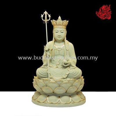 1尺3石金坐全蓮地藏王(C1183)