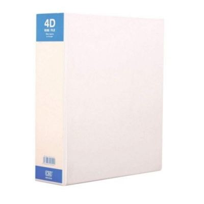CBE 4D6504 PVC 4D A4 Ring Binder File - 50mm