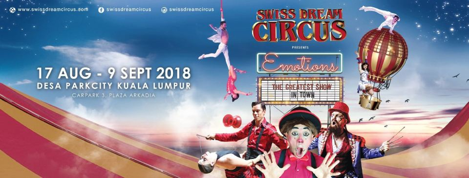 Swiss Dream Circus 2018 August 2018 Year 2018 Past Listing