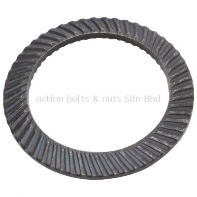 Ribbed Lock Washer