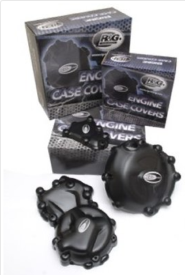 Engine Case Cover Kit (3pc) for Kawasaki Z750(S) ('06-)