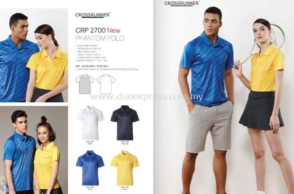 Cross Runner CRP 2700 Polo T Shirt