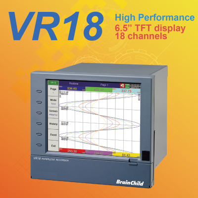 VR18��18 - channel paperless recorder