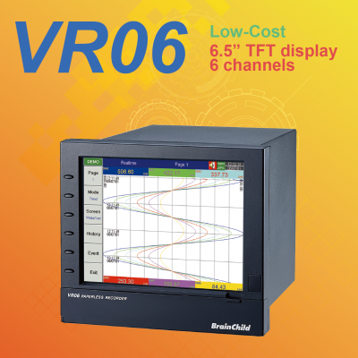 VR06��6 - channel paperless recorder