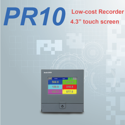 PR10 - low-cost paperless recorder