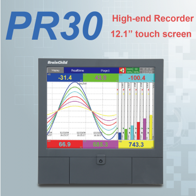 PR30 - high-end paperless recorder