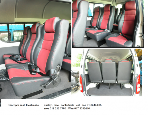 LOCAL MAKE VAN VIP SEAT