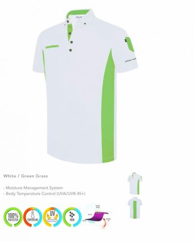 PIN HIGH WHITE LIME APPAREL