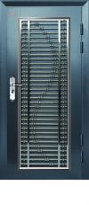 Security Door AP1-SH15 3ft x 7ft Stainless Steel Hollow Grille Security Door (S-Edition) Security Door