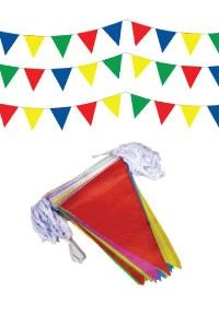 party triangle flag